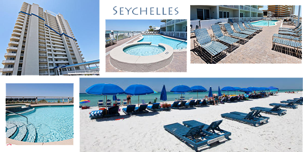 Seychelles Beach and Pool Pictures